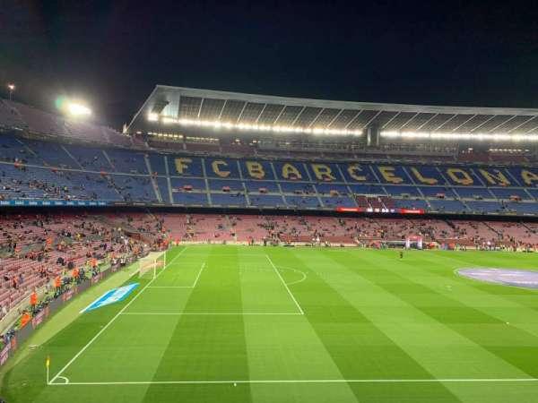 Camp Nou, sección: 227, fila: 001, asiento: 003