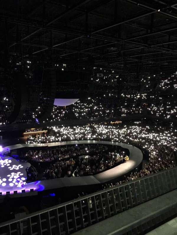 Ziggo Dome, sección: 214, fila: 1, asiento: 456