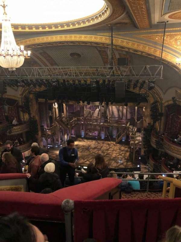 Richard Rodgers Theatre, sección: Rear Mezzanine R, fila: L, asiento: 10