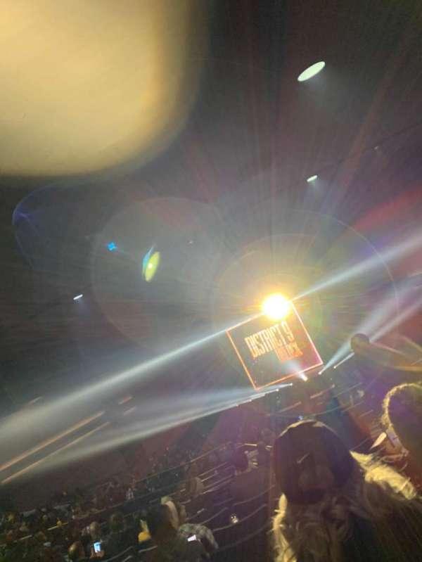 Rosemont Theatre, sección: 205, fila: S, asiento: 9