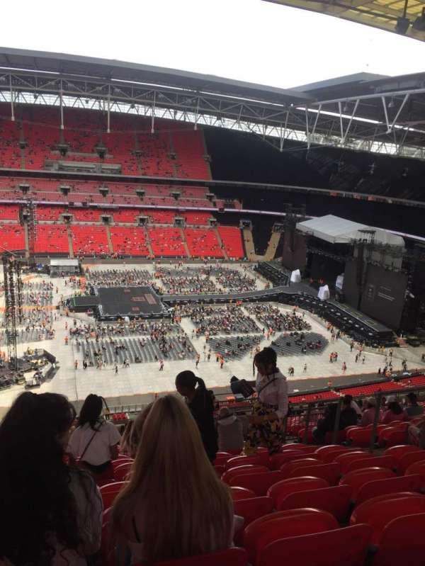 Wembley Stadium, sección: 501, fila: 25, asiento: 23