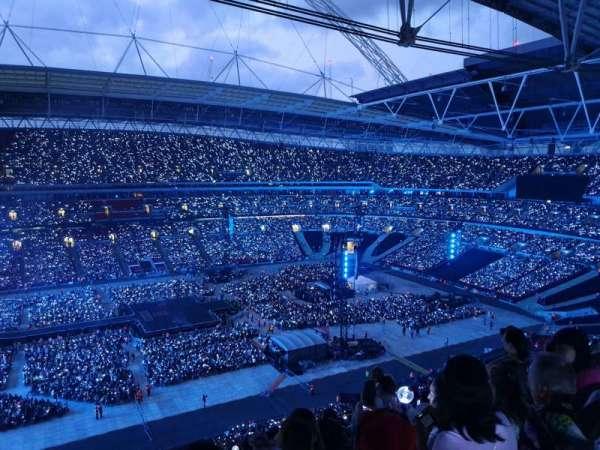 Wembley Stadium, sección: 528, fila: 16, asiento: 54