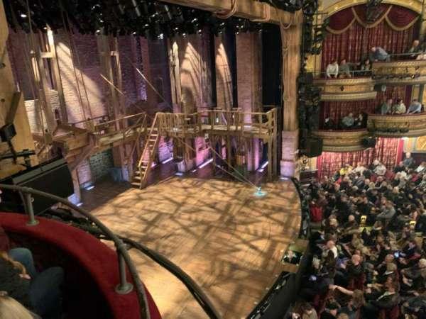 Richard Rodgers Theatre, sección: Box F, fila: 1, asiento: 1