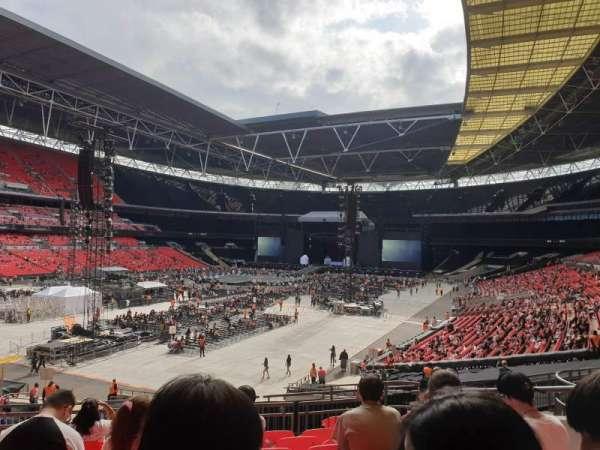 Wembley Stadium, sección: 107, fila: 39, asiento: 151
