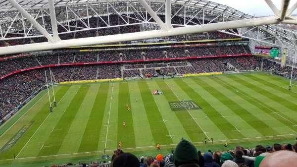 Aviva Stadium, sección: 506, fila: BB, asiento: 13