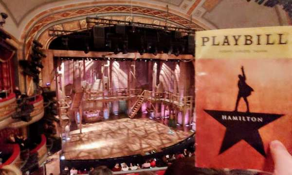 Richard Rodgers Theatre, sección: Front Mezzanine C, fila: C, asiento: 113