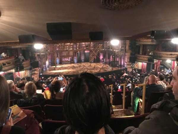 Richard Rodgers Theatre, sección: Orchestra L, fila: W, asiento: 1