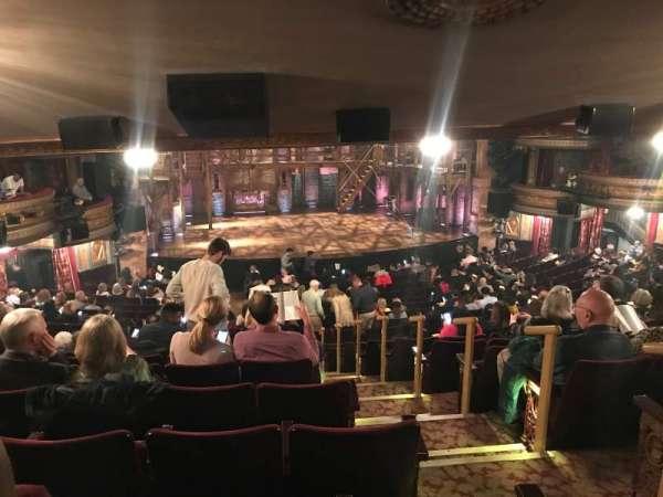 Richard Rodgers Theatre, sección: Orchestra L, fila: W, asiento: 3