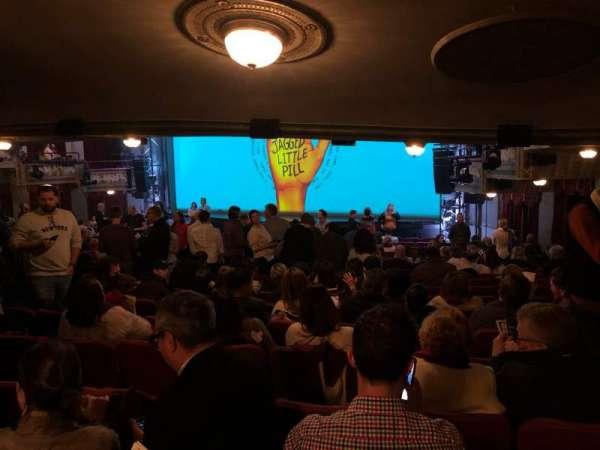 Broadhurst Theatre, sección: Orchestra R, fila: Standing Room, asiento: 20