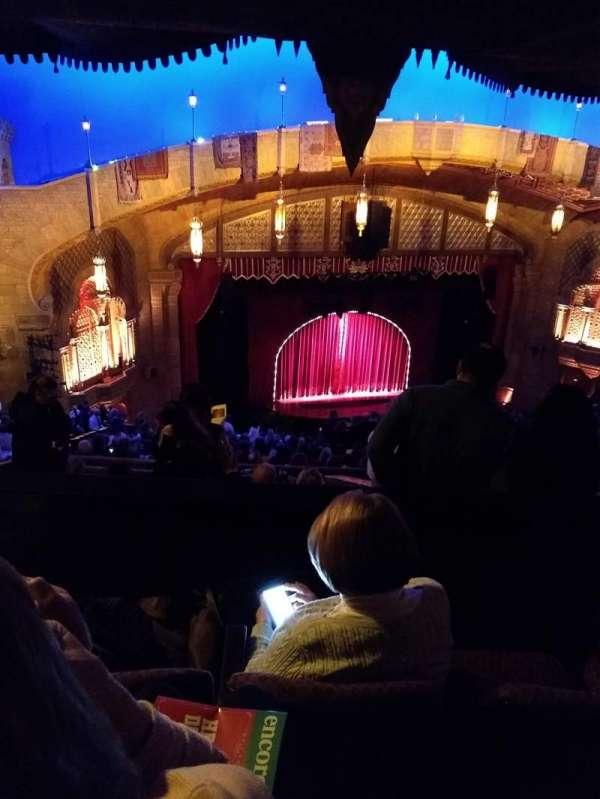 Fox Theatre (Atlanta), sección: Gallery Left B, fila: T, asiento: 25