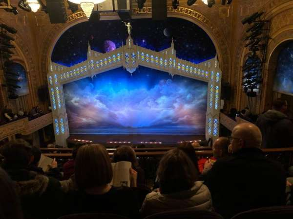 Eugene O'Neill Theatre, sección: Mezzanine C, fila: H, asiento: 110