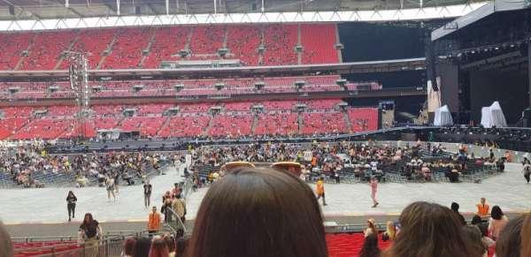 Wembley Stadium, sección: 143, fila: 20, asiento: 65