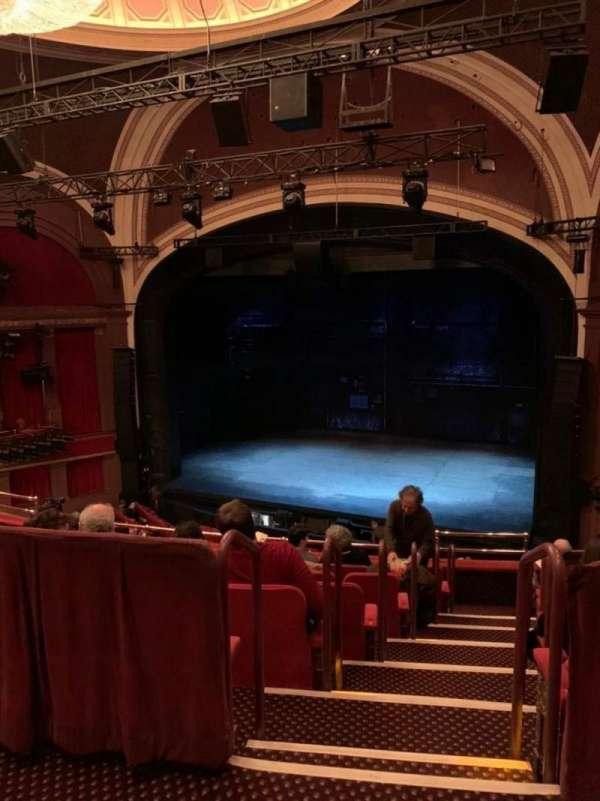 Broadway Theatre - 53rd Street, sección: Rear Mezzanine RC, fila: A, asiento: 11