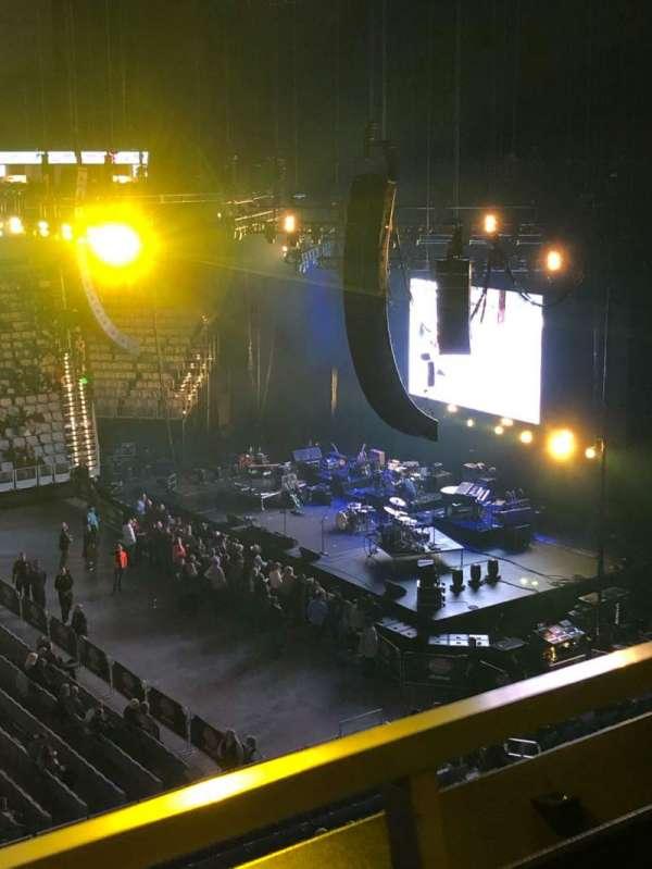 Dickies Arena, sección: 206, fila: 1, asiento: 13