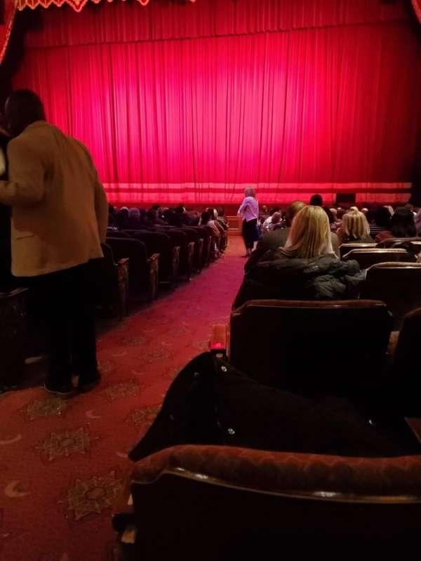 Fox Theatre (Atlanta), sección: Orchestra RC, fila: U, asiento: 54