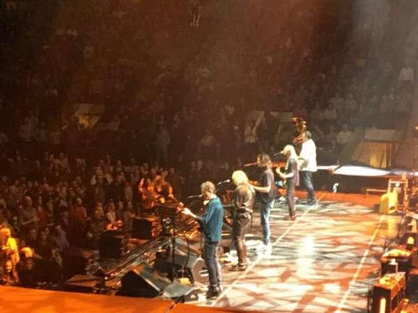 Madison Square Garden, sección: 109, fila: 9, asiento: 1