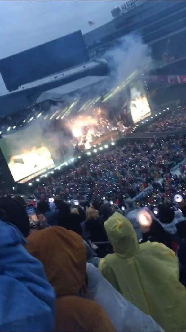Soldier Field, sección: 335, fila: 11, asiento: 7