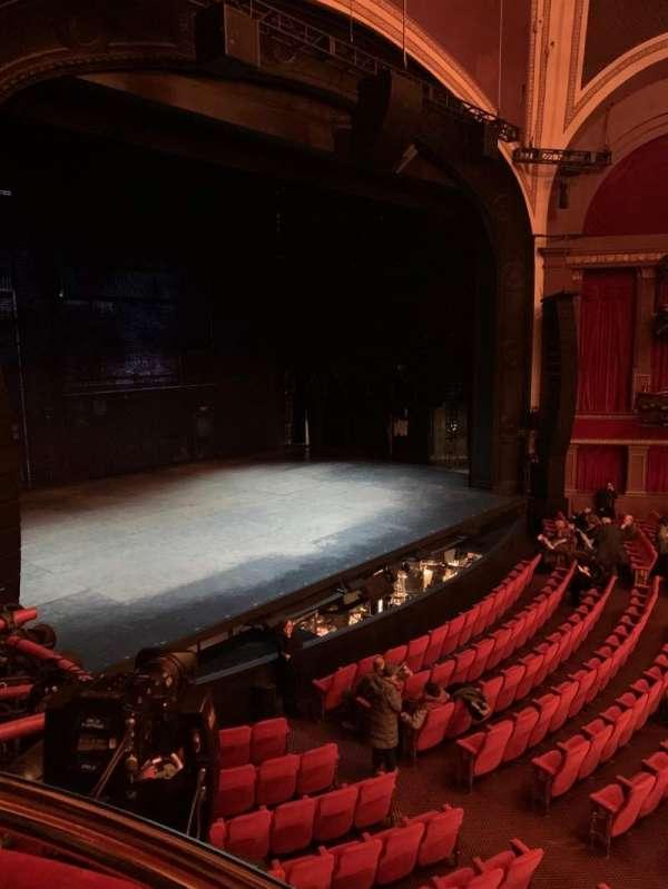 Broadway Theatre - 53rd Street, sección: Box B, asiento: 2