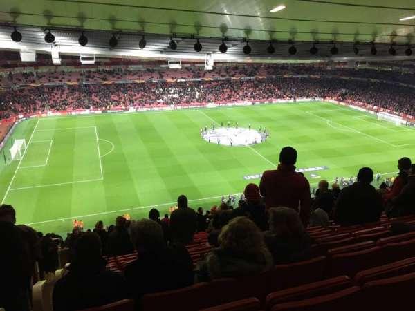 Emirates Stadium, sección: Block 93, fila: 73