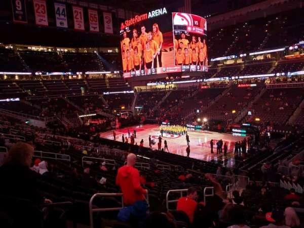 State Farm Arena, sección: 106, fila: std, asiento: rm