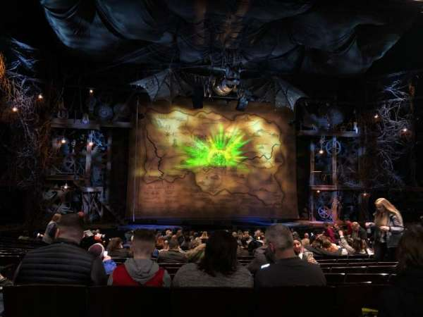 Gershwin Theatre, sección: Orchestra C, fila: R, asiento: 101
