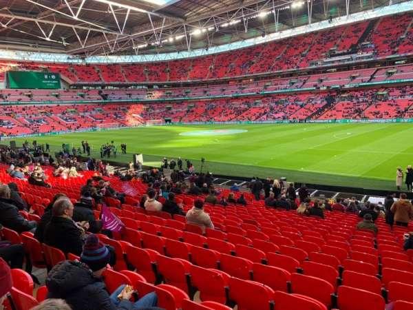 Wembley Stadium, sección: 140, fila: 24, asiento: 206