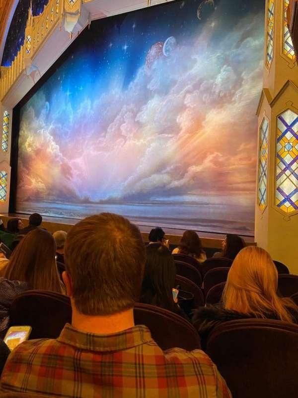 Eugene O'Neill Theatre, sección: Orchestra R, fila: F, asiento: 14-16