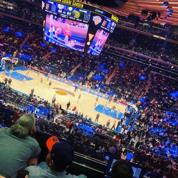 Madison Square Garden, sección: 225, fila: 4, asiento: 22