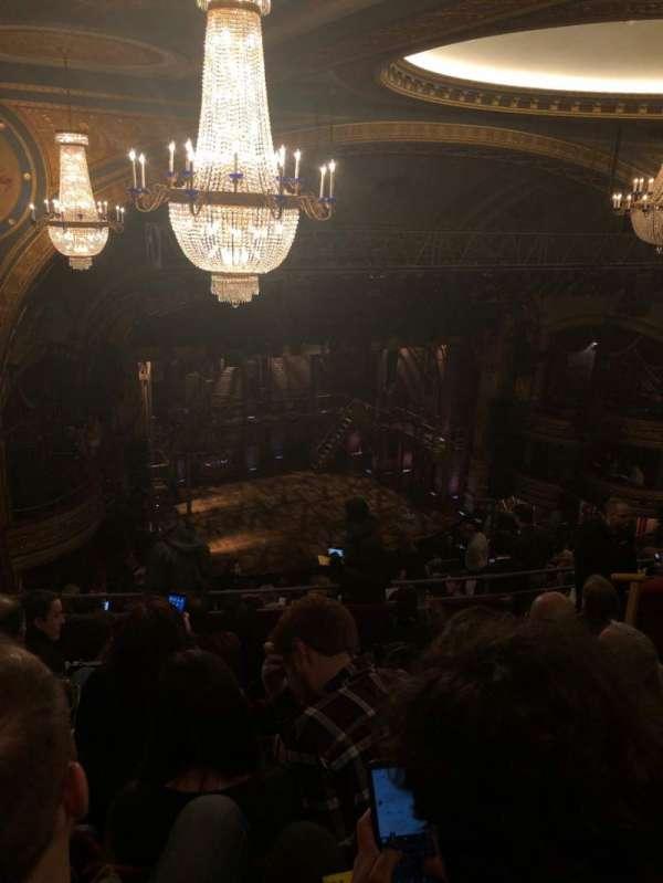 Richard Rodgers Theatre, sección: Rear Mezzanine L, fila: M, asiento: 27
