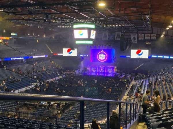 Allstate Arena, sección: 213, fila: K, asiento: 63