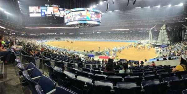 NRG Stadium, sección: 101, fila: S, asiento: 11
