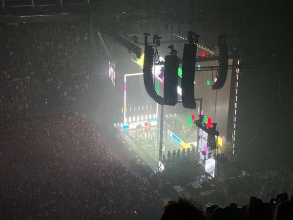 The O2 Arena, sección: 420, fila: N, asiento: 930