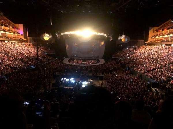 The O2 Arena, sección: 107, fila: Y