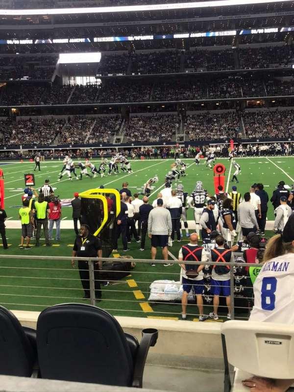 AT&T Stadium, sección: C112, fila: 4, asiento: 1