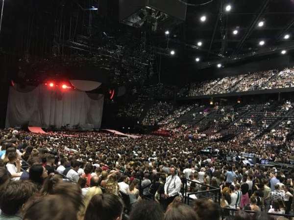 AccorHotels Arena, sección: Gradin S, fila: 21, asiento: 13