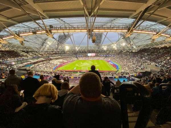 London Stadium, sección: 223, fila: 61, asiento: 840