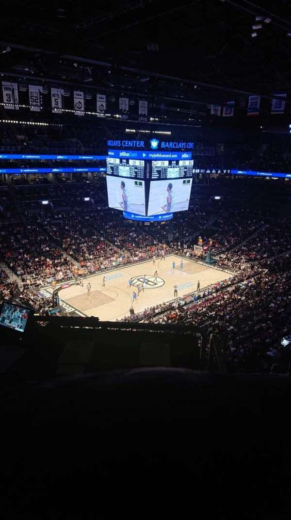 Barclays Center, sección: 212, fila: 10, asiento: 1