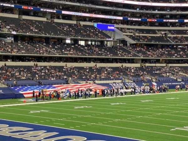 AT&T Stadium, sección: 145, fila: 16, asiento: 10
