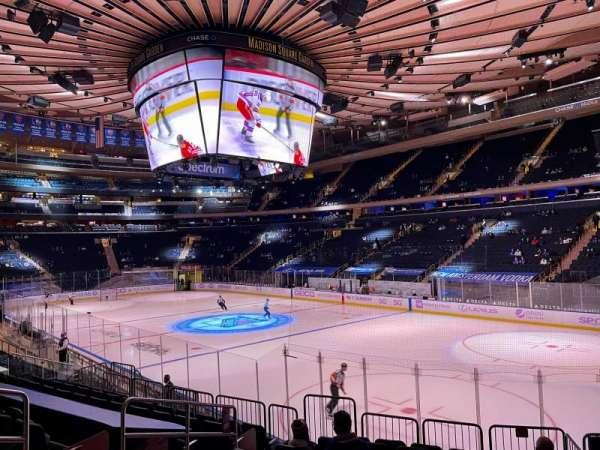 Madison Square Garden, sección: 120, fila: 12, asiento: 6