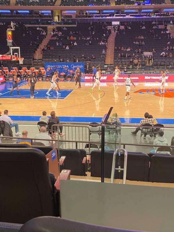 Madison Square Garden, sección: 117, fila: 7, asiento: 2