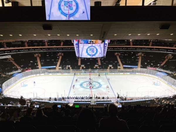 Madison Square Garden, sección: 211, fila: 18, asiento: 8