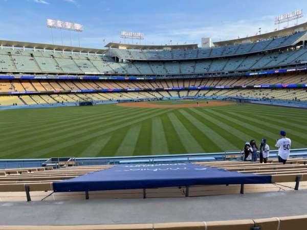 Dodger Stadium, sección: 311PL, fila: P, asiento: 7
