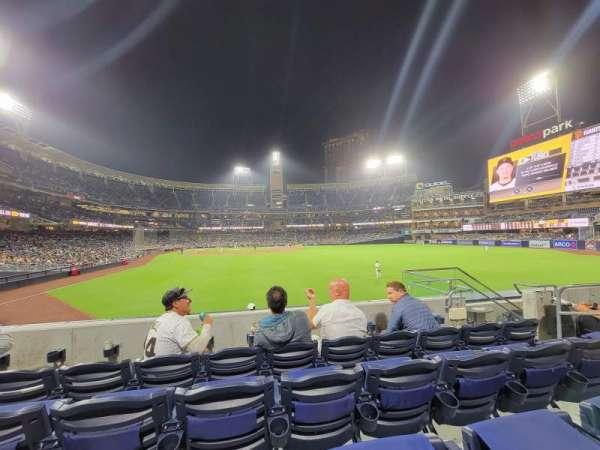 PETCO Park, sección: 131, fila: 4, asiento: 13