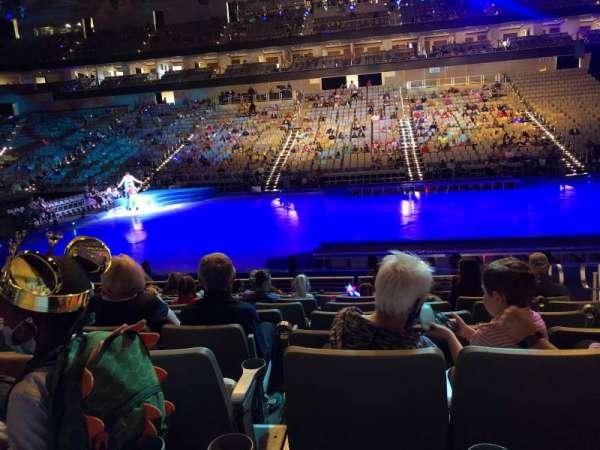 Dickies Arena, sección: 107, fila: 9, asiento: 4