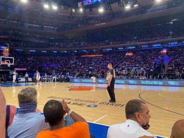 Madison Square Garden, sección: 12, fila: 2, asiento: 4
