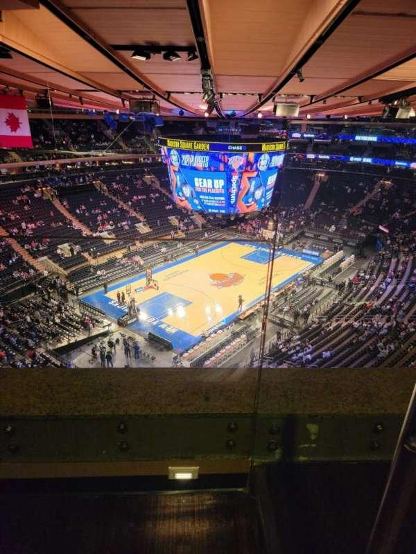 Madison Square Garden, sección: 309, fila: 2, asiento: 6
