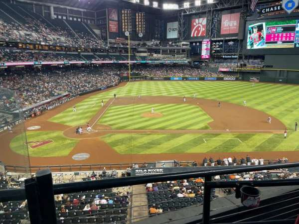 Chase Field, sección: 209, fila: 4, asiento: 17