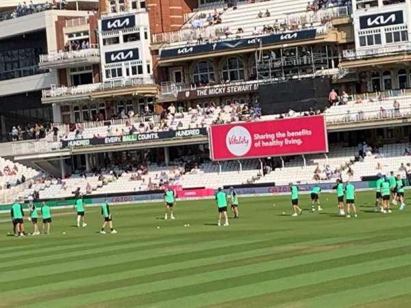 Kia Oval, sección: JM Finn Stand 6, fila: 16, asiento: 163