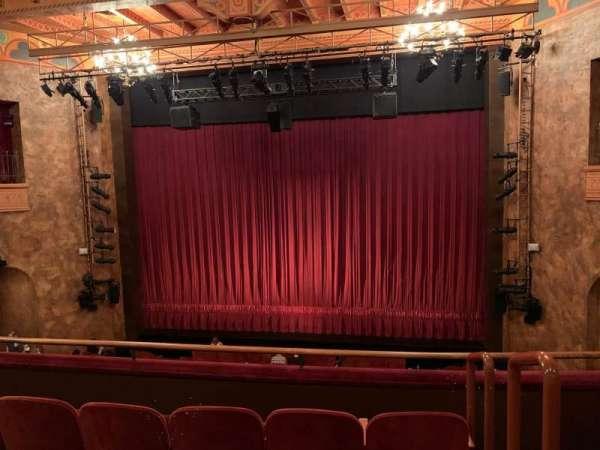 August Wilson Theatre, sección: Mezzanine C, fila: D, asiento: 101