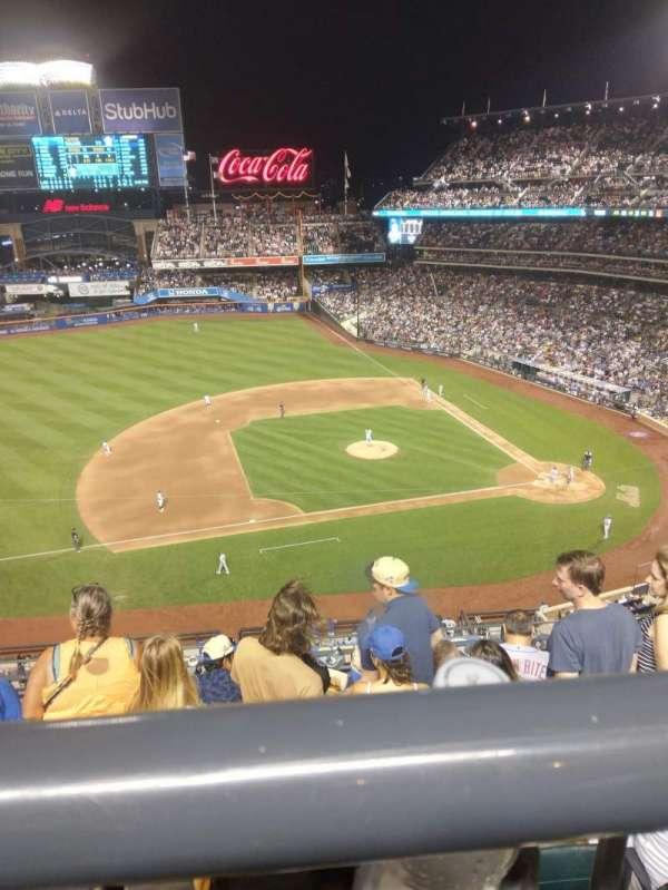 Citi Field, sección: 422, fila: WC, asiento: 5